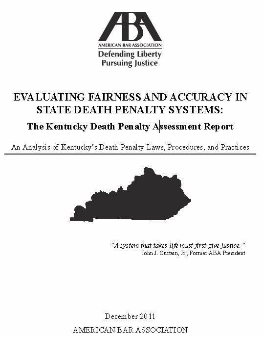 Kentucky aba report